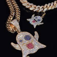 kids see ghost clarity customjewelry emoji miamicubanlink losangeles