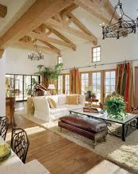 terranean family room by sennikoff architects