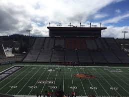 Oregon State Football Seating Chart Reser Stadium Interactive Seating Chart