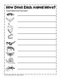 Animals That Swim Fly Crawl Or Run Worksheets