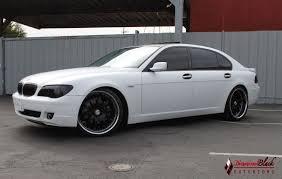 Coupe Series 2008 bmw 750 : 2006 BMW 750Li Wrapped in Satin/Matte White by DBX - Diamond Black ...