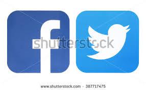 facebook and twitter logo jpg. Delighful Jpg KIEV UKRAINE  MARCH 8 2016 Facebook And Twitter Logo Social Network Inside And Logo Jpg T