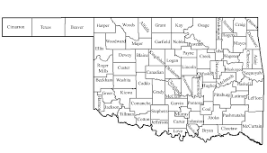 oklahoma map with counties my blog new of  lapiccolaitaliainfo