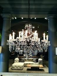 restoration hardware rococo chandelier knock off designs crystal orb smoke restoration hardware crystal chandelier