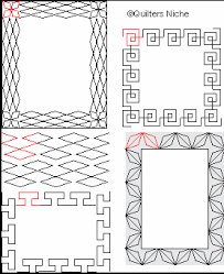 Quilt Border Patterns Adorable Geometric Quilting Designs