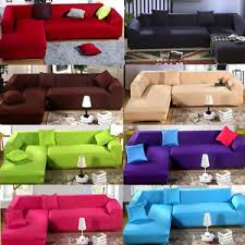sofa covers.  Covers Image Is Loading LStretchElasticFabricSofaCoverSectionalCorner On Sofa Covers S