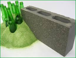 oldcastle green block is produced with 20 post consumer recycled glass aggregate which is