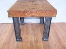 modern industrial coffee table legs i
