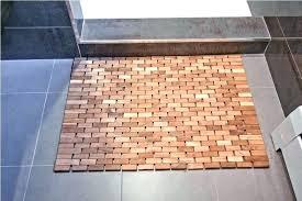 wooden shower mat mats uk bunnings ireland