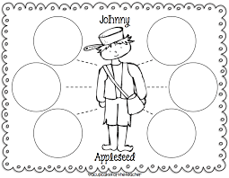 Small Picture 6 Nice Johnny Appleseed Coloring Page ngbasiccom