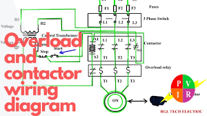 how to wire a contactor and overload start stop 3 phase motor how to wire a contactor and overload start stop 3 phase motor control