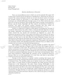 Essay Draft Example essay draft examples