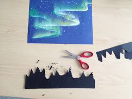 Northern Lights Salem Oregon Movie Times Aurora Borealis Mixed Media Nightscapes Winter Art