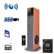 Befree Sound Triple 10 Subwoofer With Party Lights Befree Sound 97095897m Bluetooth Powered Tower Speaker