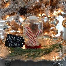 Candy Cane House Decorations Diy Clear Christmas Ornament Candy Canes in Glass Fox Hollow 65