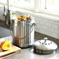 kitchen compost container charming kitchen compost bins kitchen compost bin canada