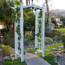 arbor garden. Vinyl Pergola Arbor Garden