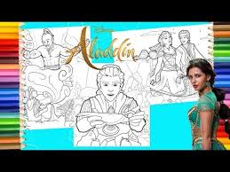 Today's popular coloring pages more images. Disney Aladdin Live Action Disney Princess Jasmine Prince Ali Coloring Pages For Kids Youtube
