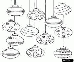 Kleurplaat Kerstballen Tropicalweather