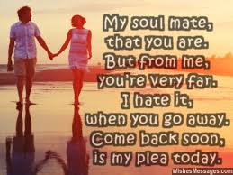 I Miss You Messages for Husband: Missing You Quotes for Him | Sms ... via Relatably.com
