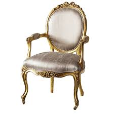 antique gold louis chair by out there interiors