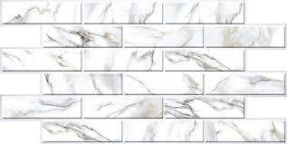 Купить <b>Декоративная панель ПВХ</b> Плитка 270х76 Мрамор белый ...