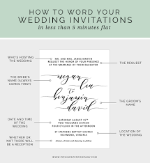 how to write your wedding invitation message pipkin paper company Time In Wedding Invitation at a loss for what to say on your wedding invitations? here's how to write time lapse wedding invitation