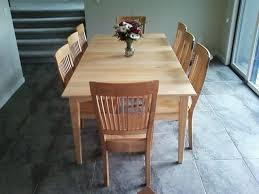 maple wood dining room table. solid maple \ wood dining room table n
