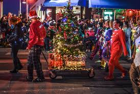 Albuquerque Christmas Light Parade Dazzling Display Nob Hill Hosts Twinkle Light Parade