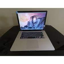 MacBook Pro (15-inch, Early 2011), Core i7 2.3 GHz, RAM 8GB, HDD 500GB