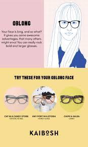 Kaibosh Glasses For Oblong Face Shapes Shop Glasses Now
