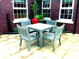 outdoor table set rectangular dining chair cover furniture settings bunnings