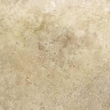 travertine finish vinyl tile view larger