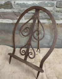 best early antique wrought iron hearth scotch broiler great form 18th 19th c sold 355 00 vintage appliancesantique ironcooking toolsiron
