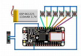 circuit diagram custom bluetooth cherry mx gamepad adafruit 3d printing circuit diagram png