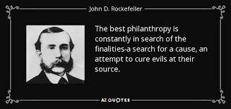 Philanthropy Quotes