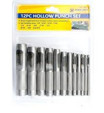 3 8 hole punch hollow set steel wood plastic metal leather tool cutting for 3 8 hole punch