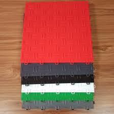 factory supply plastic interlocking pvc garage floor tiles custom printed pvc vinyl flooring