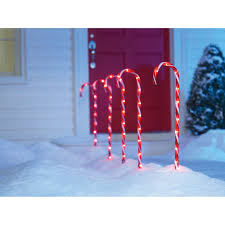 giant lighted outdoor candy canes designs