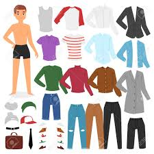 Character Pants Stock Illustration