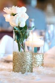 vase decoration ideas glass clear centerpiece for weddings