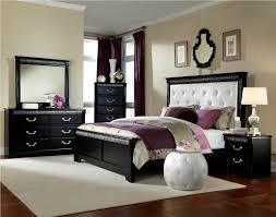 Kids Bedroom Suites Standard Furniture Venetian Black Upholstered Panel Bedroom Set In
