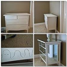diy mirrored furniture. DIY Gorgeous Mirror Dresser // ✳ Find A Small \u0026 Do This For An End Table❇ Diy Mirrored Furniture W