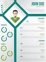 Resume Modern E Modern Cv Resume Curriculum Vitae Template Design With Photo