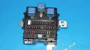 95 99 nissan maxima oem in dash fuse box fuses and relays a32 this is a in dash fuse box fuses and relays removed from a 95 nissan maxima should fit 95 99 nissan maxima but please double check to be sure of