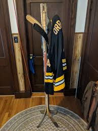 Hockey Stick Coat Rack Best How About A Hockey Stick Coat Rack To Go Next To Your Hockey Stick