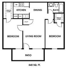 Tiny House Single Floor Plans Bedrooms Apartment Floor Plans