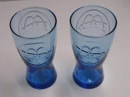 image 0 8 oz drinking glasses plastic vintage
