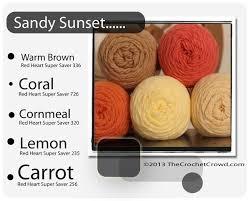 Red Heart Yarn Color Chart Crochet Patterns Combine Red Heart Super Saver Yarn Color