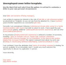 Best Solutions Of Cover Letter Template Unemployed Also Letter